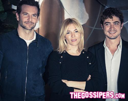 """Bradley Cooper Sienna Miller Riccardo Scamarcio Bradley Cooper a Roma per """"Burnt  Il Sapore del Successo"""""""