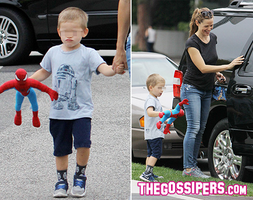 Jennifer Garner 2 Samuel Affleck preferisce Spiderman a Batman