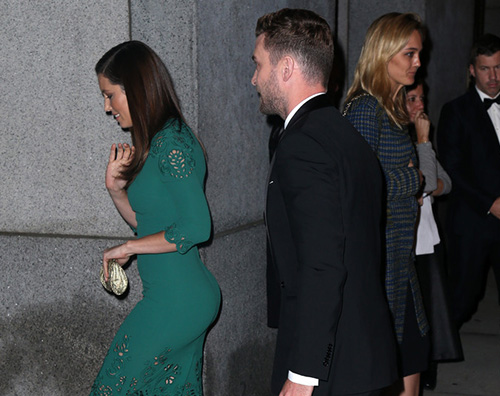 Justin Jessica Jessica Biel e Justin Timberlake red carpet di coppia a NY