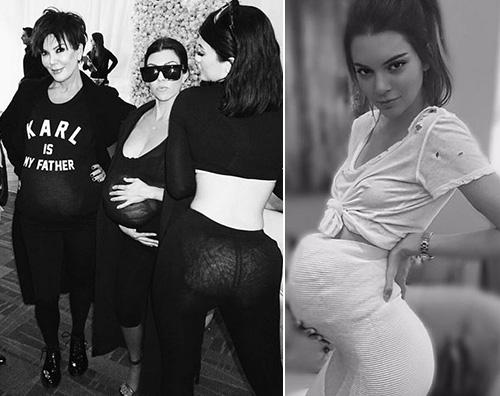 KardashianJenner Kendall Jenner incinta al party di Kim