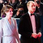 KateWilliam 150x150 Kate Middleton arriva alla premiere di Spectre