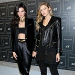 Kendall Gigi2 150x150 Parata di stelle allo show Balmain per H&M