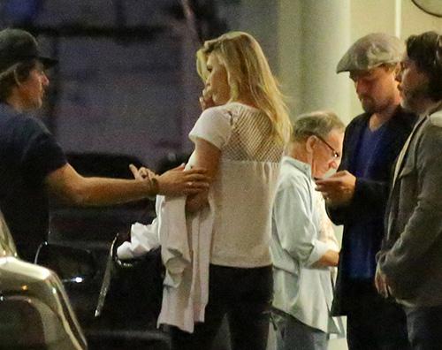 Leonardo DiCaprio Leonardo DiCaprio e Kelly, cena fuori a Beverly Hills