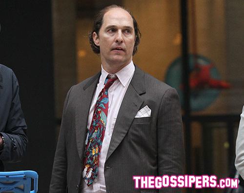 Matthew McConaughey Matthew McConaughey ingrassato per Gold
