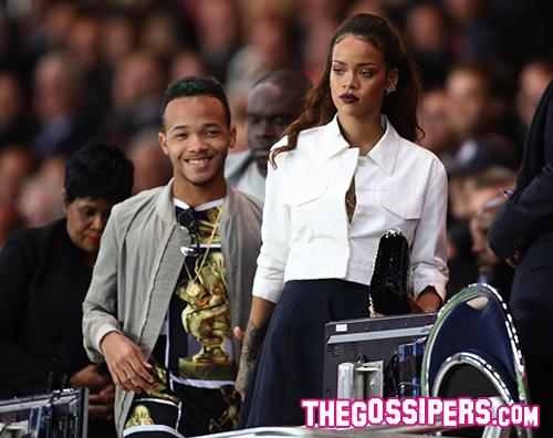 Rihanna Kendall Jenner e Gigi Hadid tifano per il Paris Saint Germain