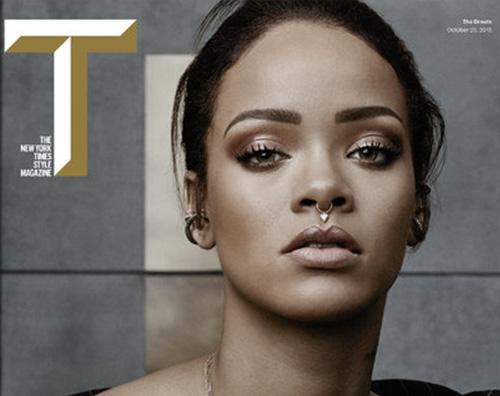 Rihanna2 Rihanna su T Magazine Ecco cosa cerco in un uomo