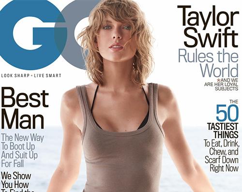 Taylor Swift Cover GQ Taylor Swift: la prima cover su GQ