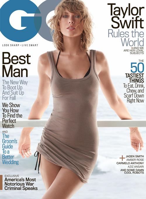 Taylor Swift Cover Prima Cover GQ Taylor Swift: la prima cover su GQ