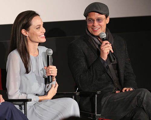 Angelina e Brad Angelina Jolie e Brad Pitt a New York per By The Sea