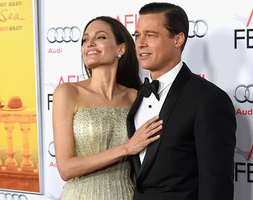 AngelinaJolie bradpitt Brad Pitt e Angelina Jolie vendono la villa francese