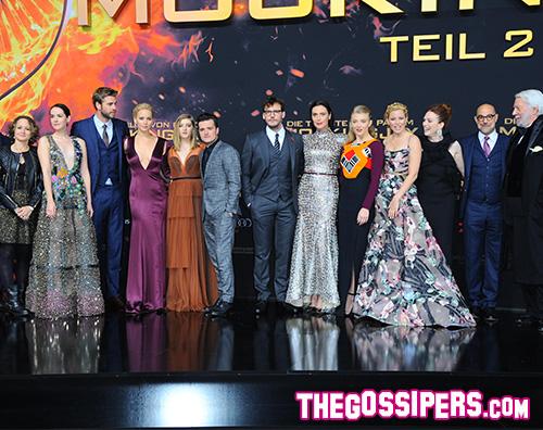 Cast Hunger Games Il cast di Hunger Games a Berlino per la premiere