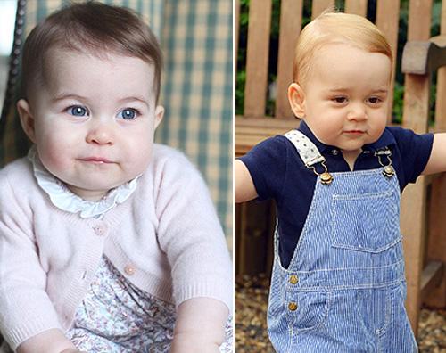 Charlotte vs George Nuove foto ufficiali della principessa Charlotte
