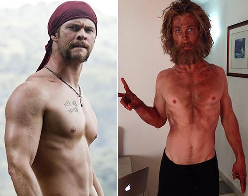 Chris Hemswroth Chris Hemsworth pelle e ossa per Heart of Sea