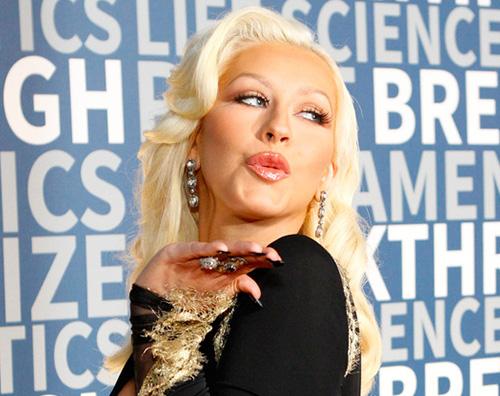ChristinaAguilera Christina Aguilera, il look è hot su Instagram