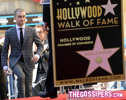 Daniel Radcliffe Daniel Radcliffe ha la sua stella sulla Walk Of Fame