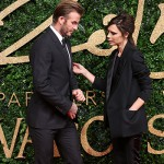 DavidBeckham e Victoria 150x150 Lady Gaga abito rosso per i British Fashion Awards