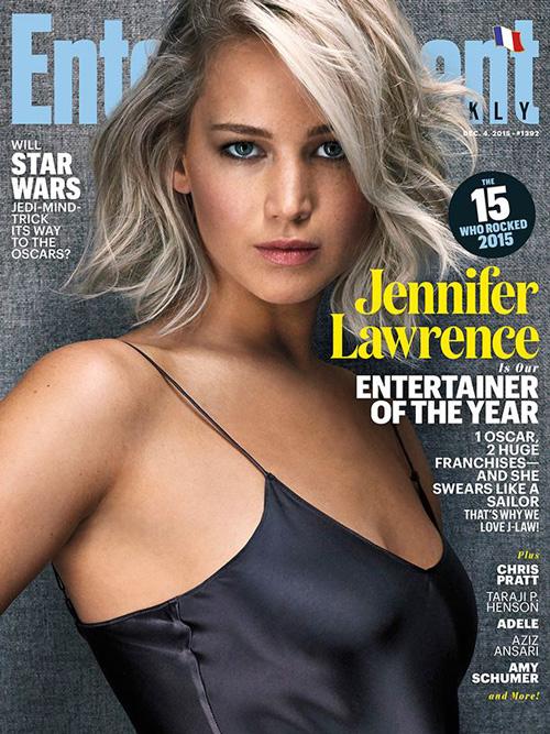 Jennifer Lawrence 2 Jennifer Lawrence è la Donna dell Anno per Entertainment Weekly