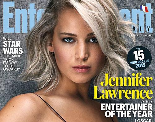 Jennifer Lawrence7 Jennifer Lawrence è la Donna dell Anno per Entertainment Weekly