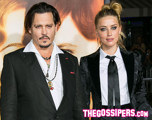 JohnnyDepp AmberHeard Johnny Depp e Amber Heard: il divorzio è ufficiale!