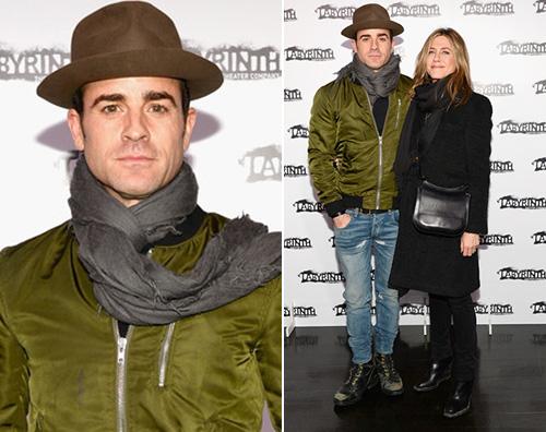 Justin Theroux Jennifer Aniston Jennifer Aniston e Justin Theroux, red carpet di coppia a NY