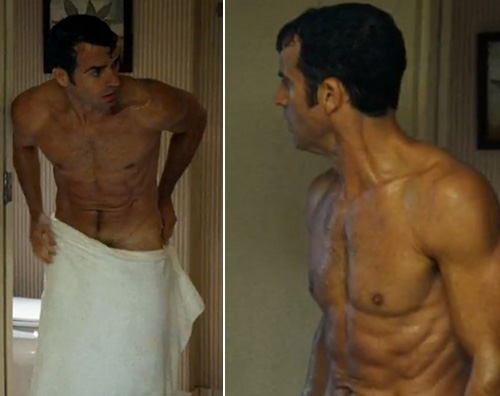JustinTheroux Justin Theorux hot nell ultima puntata di The Leftlovers