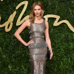 KarlieKloss 150x150 Lady Gaga abito rosso per i British Fashion Awards