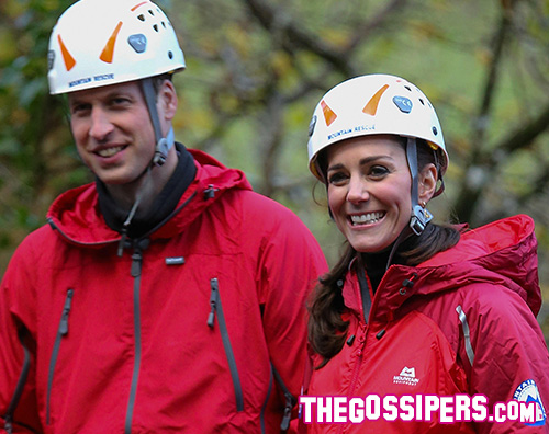 KateWilliam Weekend di arrampicata per William e Kate