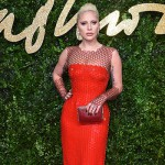 LadyGaga1 150x150 Lady Gaga abito rosso per i British Fashion Awards