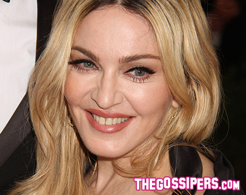 Madonna Madonna in topless su Instagram