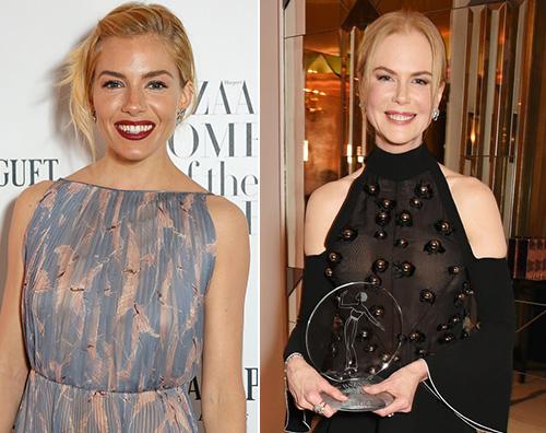 NicoleKidman SiennaMiller Kate Winslet è l Icona Inglese per Harpers Bazaar