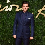 OrlandoBloom 150x150 Lady Gaga abito rosso per i British Fashion Awards