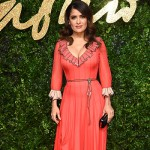 SalmaHayek1 150x150 Lady Gaga abito rosso per i British Fashion Awards