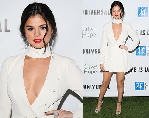 SelenaGomez Selena Gomez è sexy per lo Spirit Of Life Gala