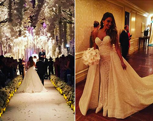 Sofia vergara Joe Manganiello matrimonio 2 Sofia Vergara e Joe Manganiello si sono sposati