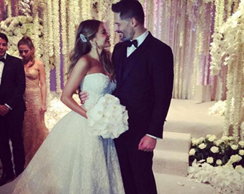 Sofia vergara Joe Manganiello matrimonio Sofia Vergara e Joe Manganiello si sono sposati