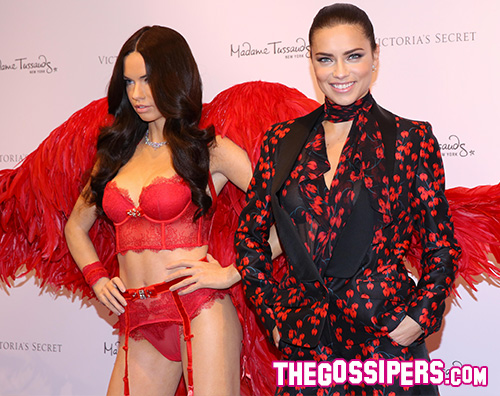 AdrianaLima Il Madame Tussauds di New York svela la sua Adriana Lima