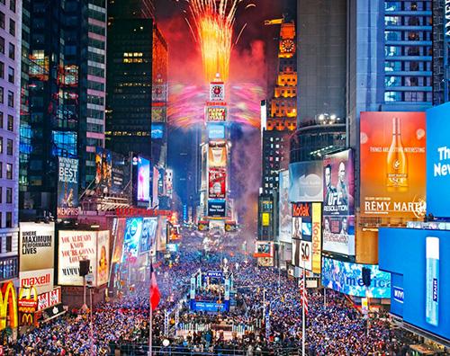 Capodanno New York Buon 2016 a tutti