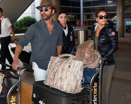 Eva longoria 2 Eva Longoria e Jose Antonio Baston arrivano a Los Angeles