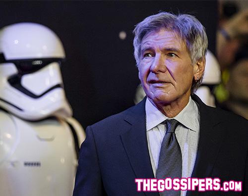 Harrison Ford Cover Il cast di Star Wars sbarca a Londra