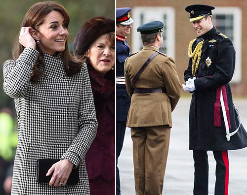 Kate e William Kate Middleton stilosa a Warminster