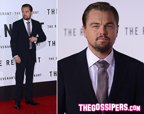Leonardi DiCaprio Leonardo DiCaprio presenta The Revenant
