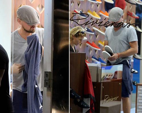 Leonardo Di Caprio Anche Leonardo Di Caprio in vacanza a St. Barts