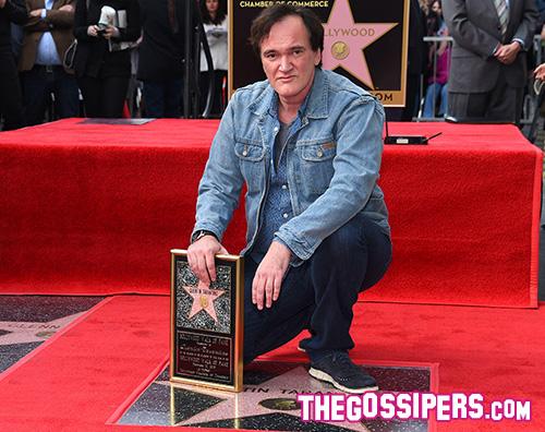 Quentin Tarantino 2 Quentin Tarantino ha la sua stella sulla Walk Of Fame