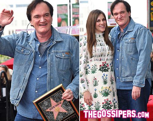 Quentin Tarantino Quentin Tarantino ha la sua stella sulla Walk Of Fame