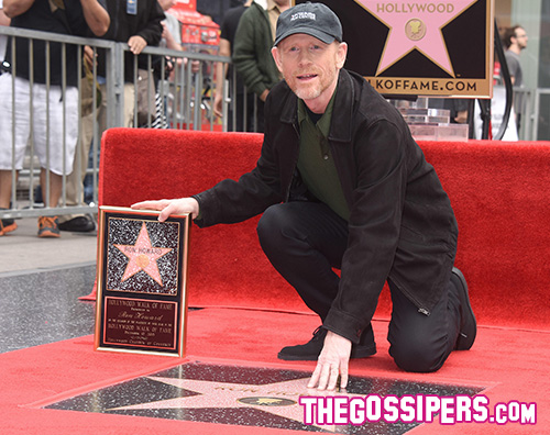Ron Howard2 Ron Howard fai il bis sulla Walk Of Fame