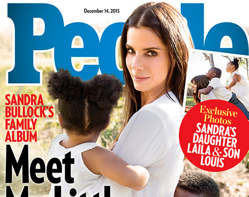 Sandra Bullock Sandra Bullock presenta Laila su People