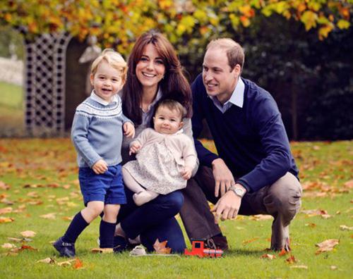 William e Kate William e Kate, Buon Natale con una nuova foto di famiglia