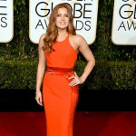 AmyAdams 150x150 Golden Globes 2016: i look sul red carpet