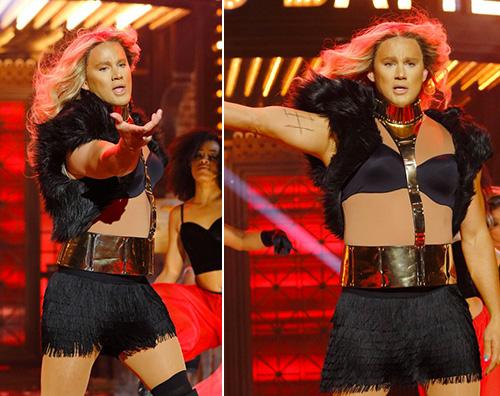 CHanning Tatum Channing Tatum è Beyonce per Lip Sync Battle
