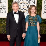 CalistaFlockhart HarrisonFord 150x150 Golden Globes 2016: i look sul red carpet
